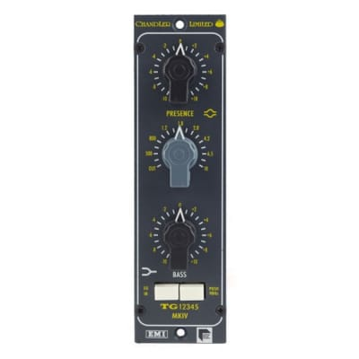 New Chandler Limited TG12345 MKIV EQ, Mono Equalizer, True Bypass, EMI/Abbey Road Studios