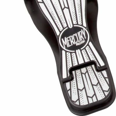 New ddrum MSBP Mercury Single Bass Drum Pedal, Black and Chrome