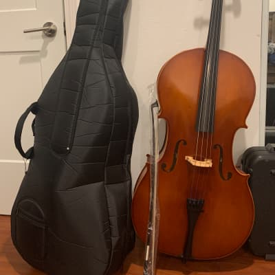 Eastman 2019 Full size 4/4 Cello w/ soft case and brand new bow. for sale