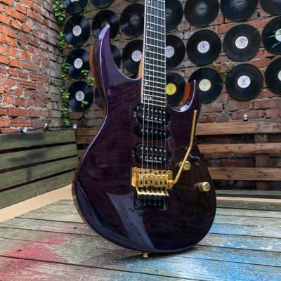 Rare pre Caparison Japan custom shop Cobran FG-5 1989 violet superstrat jackson charvel killer for sale