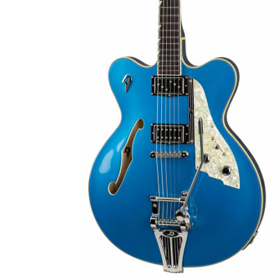 Electric Guitar DUESENBERG FULLERTON ELITE - Catalina Blue + Custom Line Case for sale