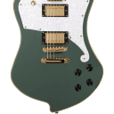 D'Angelico Deluxe Ludlow Hunter Green w/Case