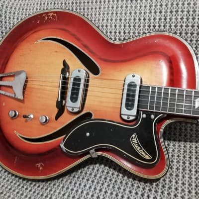 Musima Record 15 60-s 2 tone sunburst for sale