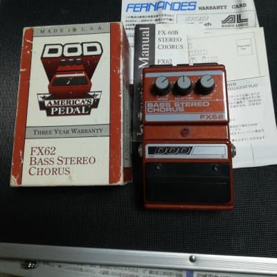DOD Bass Stereo Chorus FX62 1987 for sale