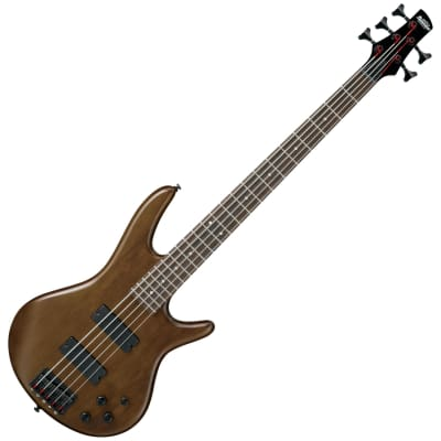 Ibanez GSR205 5-String Electric Bass Walnut image