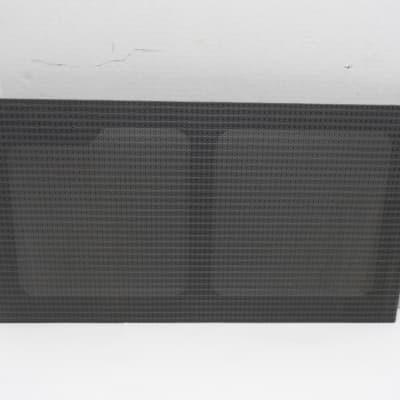 Johnson JM150 Millennium Grill  Cloth Stereo Amplifier Vintage 2x12 12 30 Grillcloth wood frame #1