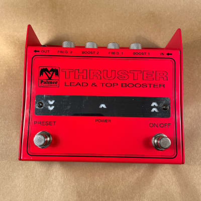 Palmer Thruster Lead and Top Booster Pedal for sale