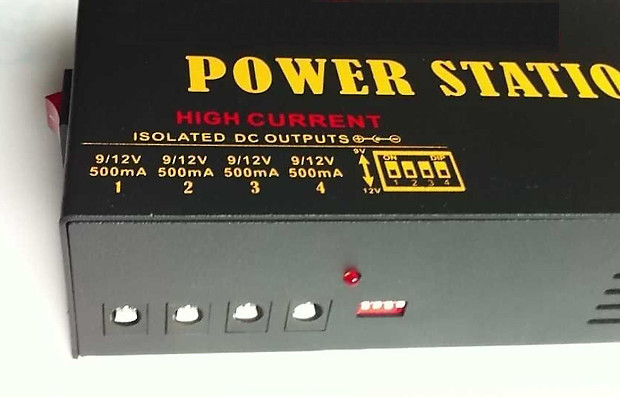 Thunder Audio Power Station 6 Pedal Power Supply Ac Dc