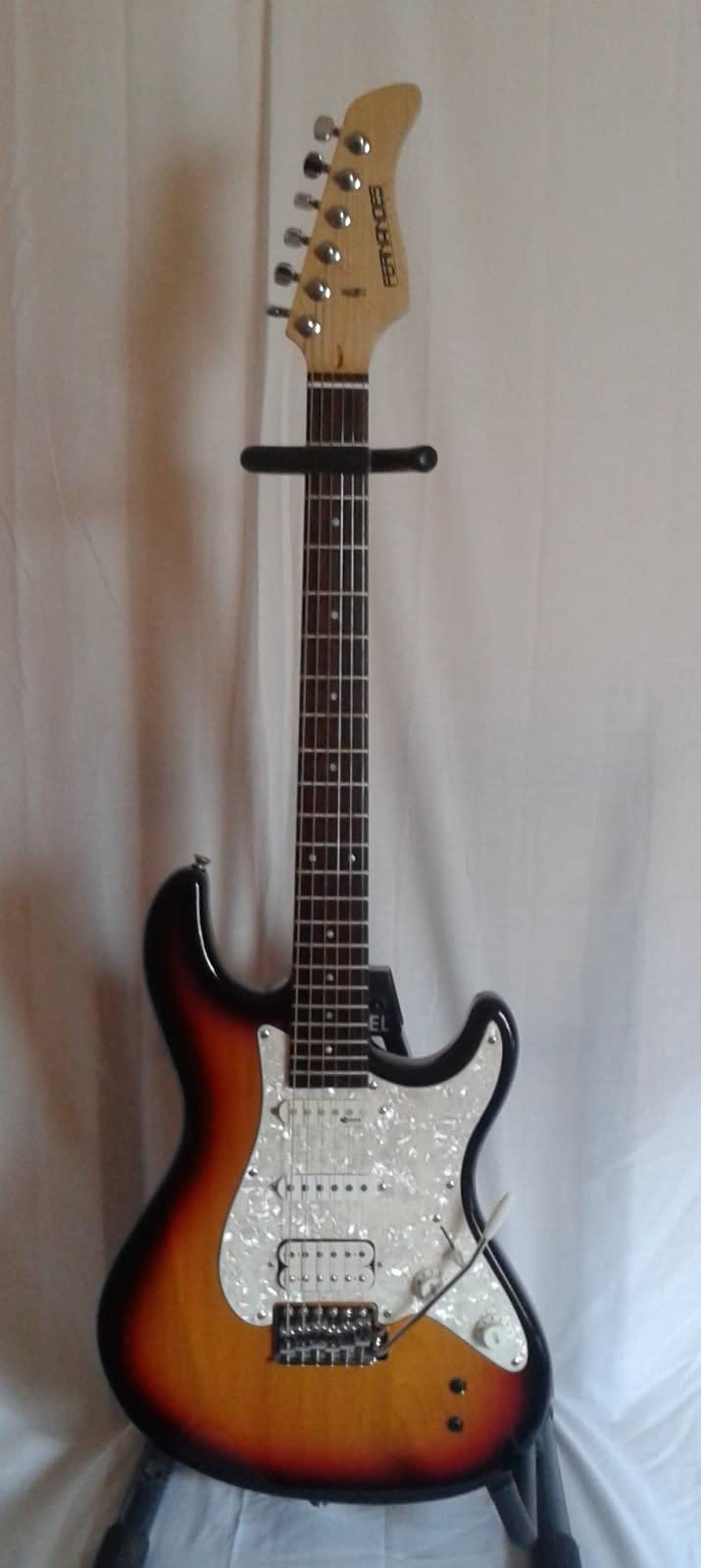 fernandes retrorocket pro electric guitar w sustainer system reverb. Black Bedroom Furniture Sets. Home Design Ideas