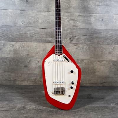 Vox Phantom IV Bass 1965 Red for sale