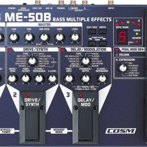 Boss ME-50B Bass Multi Effects for sale