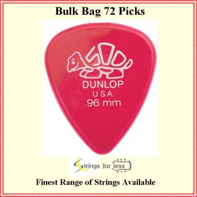 Dunlop 41R.96 Derlin Dark Pink  .96 mm, 72 picks  Bulk Bag Guitar Picks
