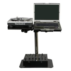 Odyssey LUNISPDB L-EVATION Heavy Duty Laptop and Pro Audio Gear Stand