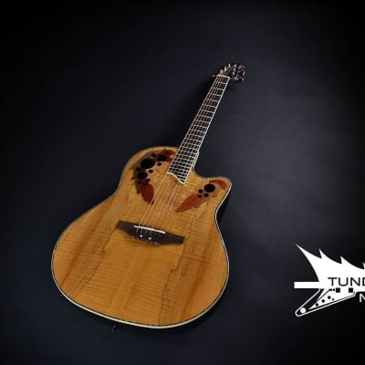 Ovation CC44-SM Celebrity Deluxe PLS MD - Spalted Maple (315) for sale