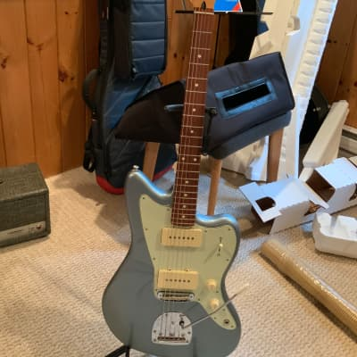 Fender  Jazzmaster CME exclusive  2021 Ice blue metallic for sale