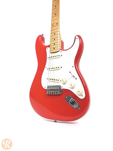 fender classic series 39 50s stratocaster 2000s fiesta red reverb. Black Bedroom Furniture Sets. Home Design Ideas