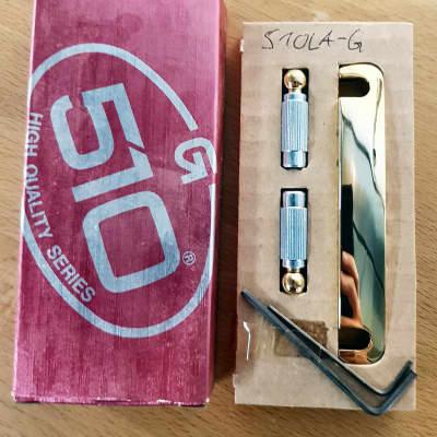 NOS: Gotoh 510LA Guitar Tailpiece - Gold for sale