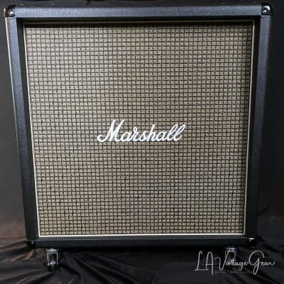 Kerry Wright Recovered Marshall 4 x 12 Straight Cab - Original Celestion  Black Back Rola Speakers!