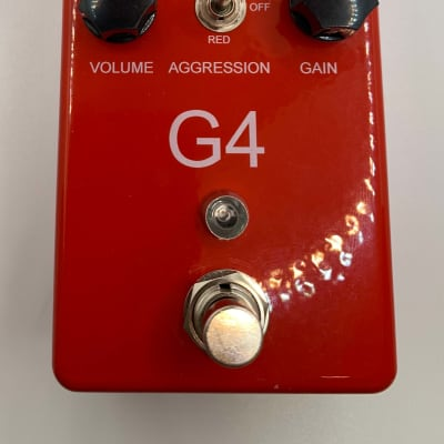 REVV G4 Clone 2021 Red [PedalPCB Sanguine Distortion]