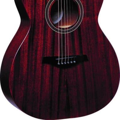 Jay Turser JTA54F-MAG-SN Folk Mahogany Natural Satin Acoustic Guitar for sale