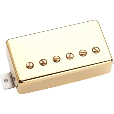 Seymour Duncan TB-APH1B Alnico II Trembucker Bridge Electric Guitar Pickup, Gold Cover