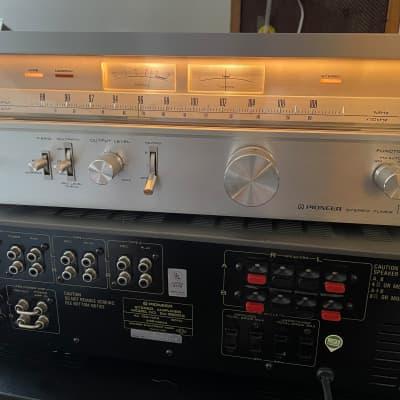 Vintage Pioneer TX-9500 II Stereo Tuner 70s