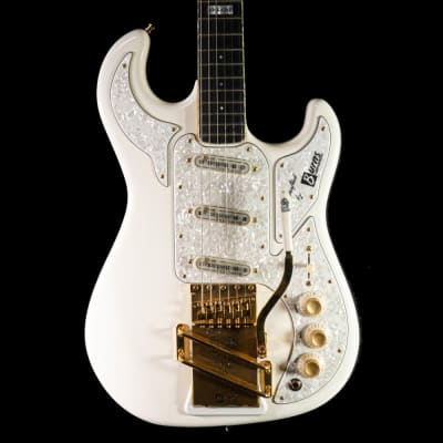 Burns 2008 Apache The Shadows 50th Anniversary Electric Guitar White for sale