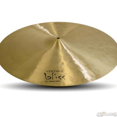 Dream Cymbals VBCRRI22 Vintage Bliss 22-inch Crash/Ride Cymbal