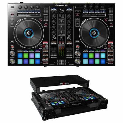 Pioneer DDJ-RR Portable 2-channel Controller for Rekordbox DJ & Black Flight Case Package