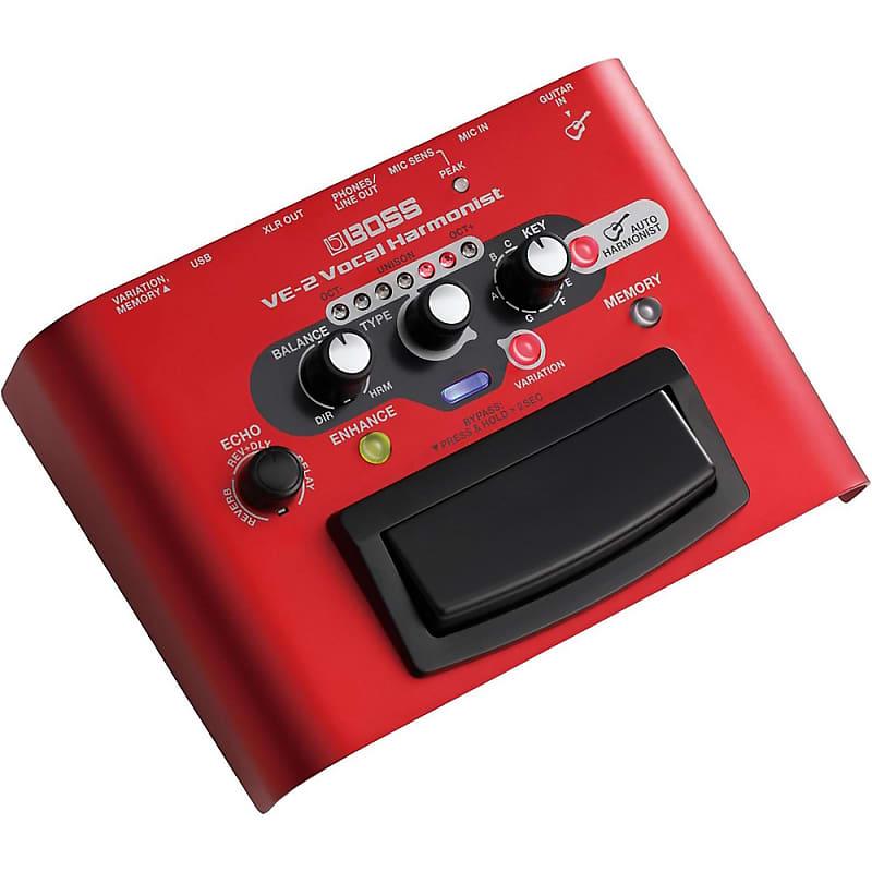 boss ve 2 vocal harmonist multi effects pedal regular reverb. Black Bedroom Furniture Sets. Home Design Ideas