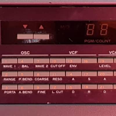 Vintage 1980s Kawai K3m Hybrid Wavetable/Analogue Polysynth