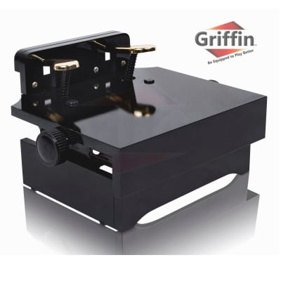 Piano Pedal Extender – Griffin Foot Stool Bench Kids Adjustable Height Assist