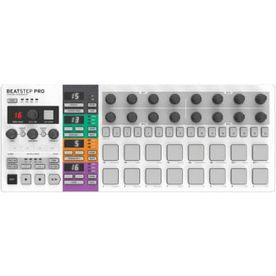 Arturia BeatStep Pro - MIDI/Analog Controller and Sequencer Brand  2-Day Delivery