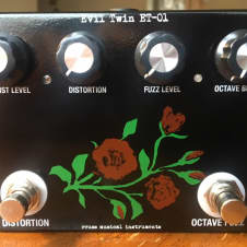Reuss Evil Twin ET-01 FX Pedal w/ Box & Bag (MXR Distortion + & Blue Box circuits) Rowland S. Howard