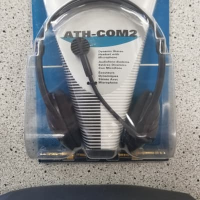 Stereophone/Dynamic Boom Microphone Combination Headset