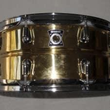 "Yamaha Nouveau Brass 13"" x 6.5"" Snare Drum Brass image"