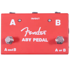 Fender ABY Footswitch ABY Footswitcher - RED for sale