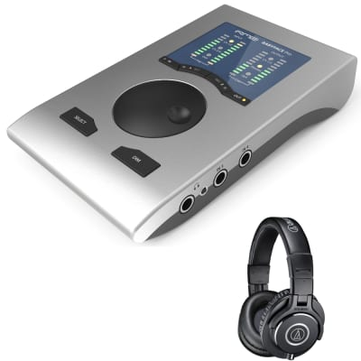 RME Babyface Pro 24-Ch USB Interface + Audio Technica M40X Studio Headphones image