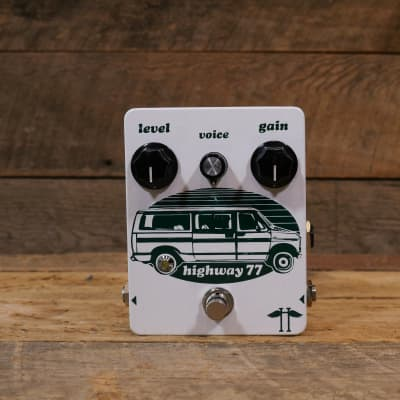 Heavy Electronics Highway 77 Distortion 2010s White