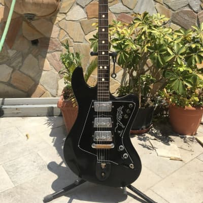 Rare Wandre Tigre Vintage Black 3 Pickups - RIF 221 for sale