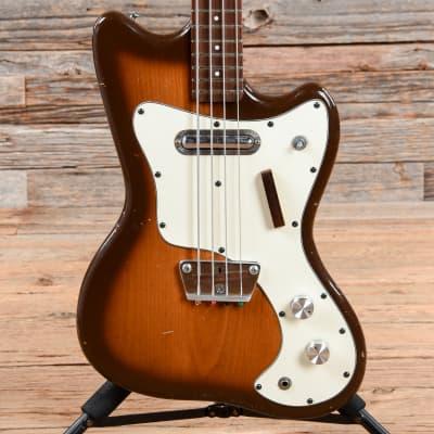 Silvertone 1442 Bass Brown Burst 1960s for sale