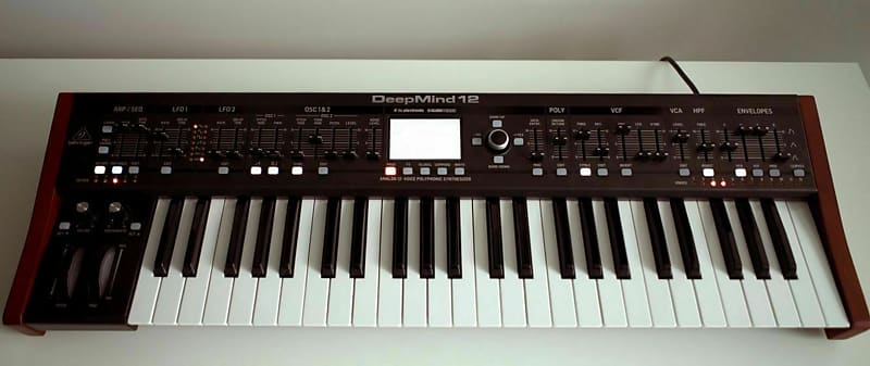 Behringer DeepMind 12 49-Key 12-Voice Analog Synthesizer | Reverb