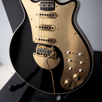 Brian May Guitars Signature Special Black & Gold with original gig bag for sale