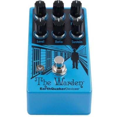 EarthQuaker The Warden Optical Compressor for sale