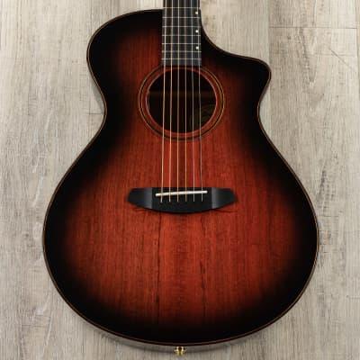 Breedlove Limited Oregon Concert CE Acoustic-Electric Guitar, Sunset Burst