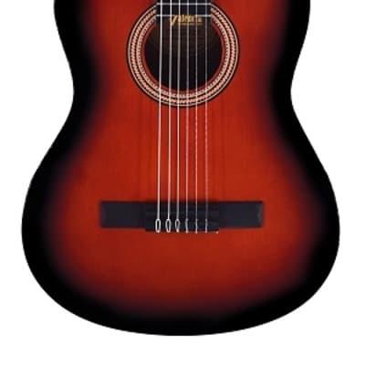 Valencia VC264HCSB Series 260 Jabon Neck 4/4 Hybrid Classical 6-String Acoustic Guitar