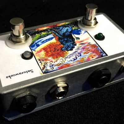 Saturnworks Active Dual Buffered ABY A/B/Y Buffer Splitter Guitar or Bass Pedal - Crafted in USA!