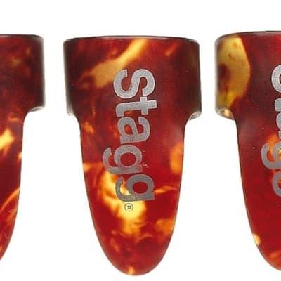 Set of Stagg Fingerpicks - Size Medium for sale