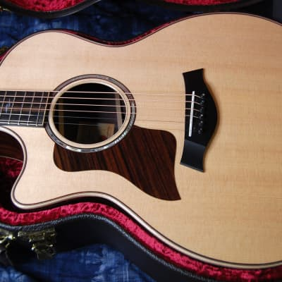 MINT! 2020 Taylor 814ce with V-Class Bracing Left Handed - Authorized Dealer - SAVE BIG! Case!