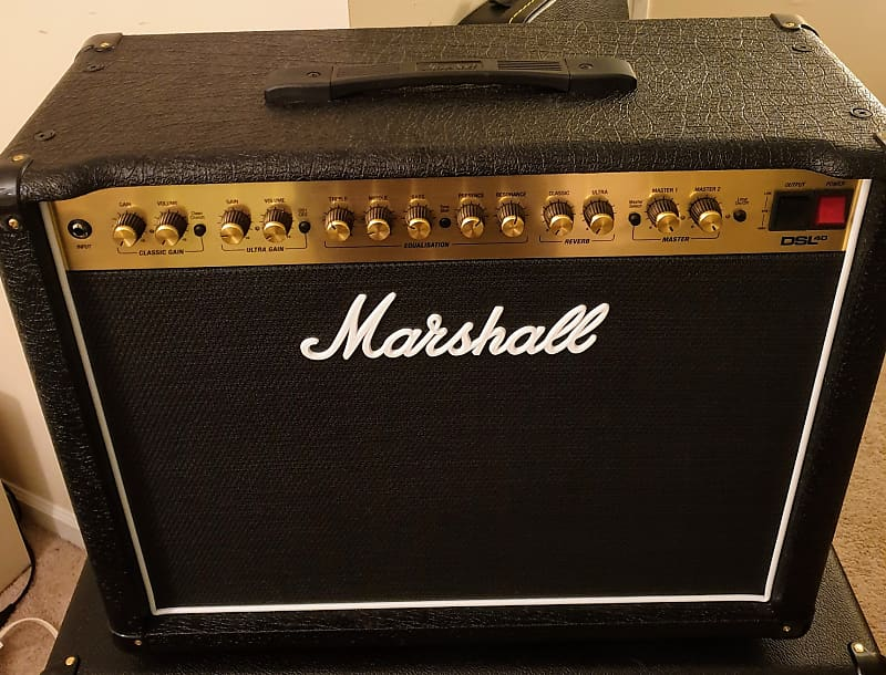 Marshall Dsl40cr Combo 1x12 M Reverb Manual Guide